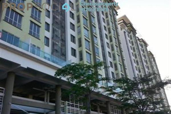 For Rent Condominium at Sentral Residences, Kajang Freehold Semi Furnished 3R/2B 1.2k