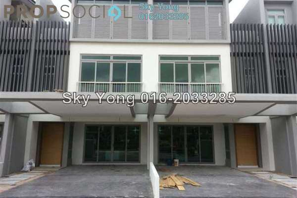 For Sale Terrace at D'Island, Puchong Leasehold Semi Furnished 5R/6B 1.33m