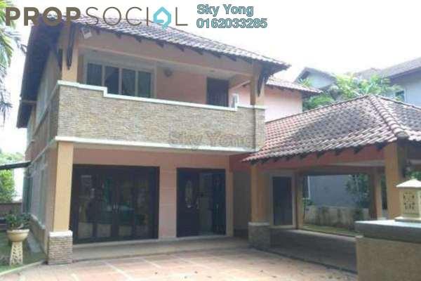 For Sale Bungalow at Bukit Gita Bayu, Seri Kembangan Freehold Fully Furnished 8R/9B 3.48m