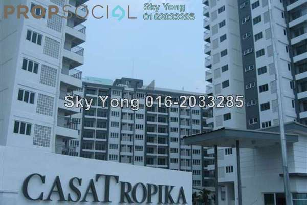 For Sale Condominium at Casa Tropika, Puchong Leasehold Fully Furnished 3R/2B 450k