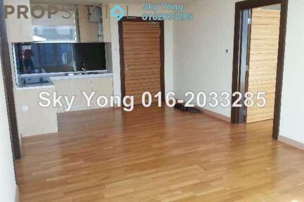 For Sale Condominium at Dua Sentral, Brickfields Freehold Semi Furnished 1R/1B 900k