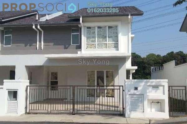 For Sale Semi-Detached at Taman Damai Utama, Bandar Kinrara Leasehold Fully Furnished 4R/4B 1.2m