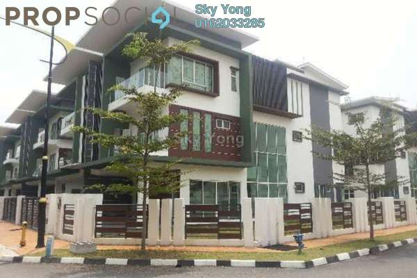 For Sale Semi-Detached at Surian Tropika Homes, Bandar Sungai Long Freehold Fully Furnished 7R/7B 1.95m