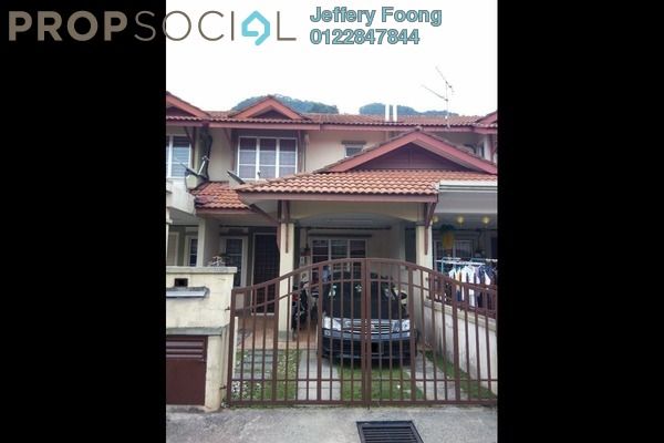 For Sale Terrace at Taman Gombak Permai, Batu Caves Leasehold Unfurnished 4R/3B 580k