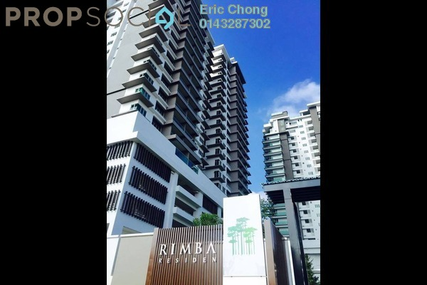 For Rent Condominium at Rimba Residence, Bandar Kinrara Freehold Semi Furnished 4R/3B 2k