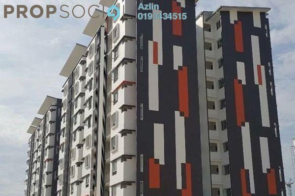 For Rent Apartment at Seri Kasturi, Setia Alam Freehold Semi Furnished 3R/2B 900translationmissing:en.pricing.unit