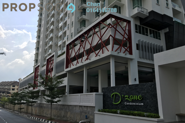 For Sale Condominium at D'Zone Condominium, Teluk Kumbar Freehold Fully Furnished 4R/3B 670k
