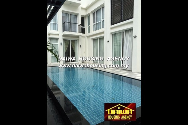 For Rent Semi-Detached at Seri Austin Residence, Seri Austin Freehold Fully Furnished 6R/7B 9.5k