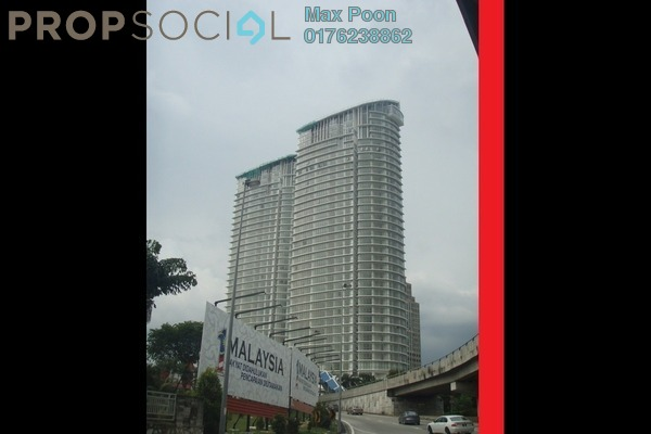 For Sale Condominium at Twins, Damansara Heights Freehold Fully Furnished 1R/1B 890k