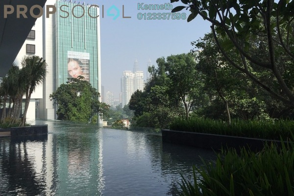 For Rent Condominium at The Horizon Residences, KLCC Freehold Fully Furnished 1R/1B 3.5k