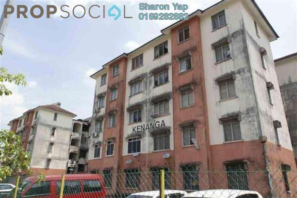 For Sale Apartment at Kenanga Apartment, Pusat Bandar Puchong Freehold Unfurnished 3R/2B 179k