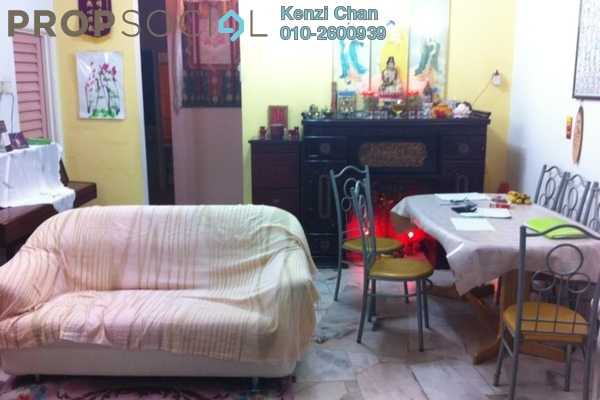 For Sale Terrace at Taman Damai Impian 1, Bandar Damai Perdana Freehold Semi Furnished 4R/3B 580k