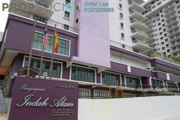 For Sale Apartment at Indah Alam, Shah Alam Freehold Unfurnished 4R/2B 470k