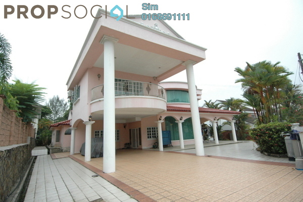 For Sale Bungalow at Section 16, Petaling Jaya Leasehold Semi Furnished 8R/6B 4.5m