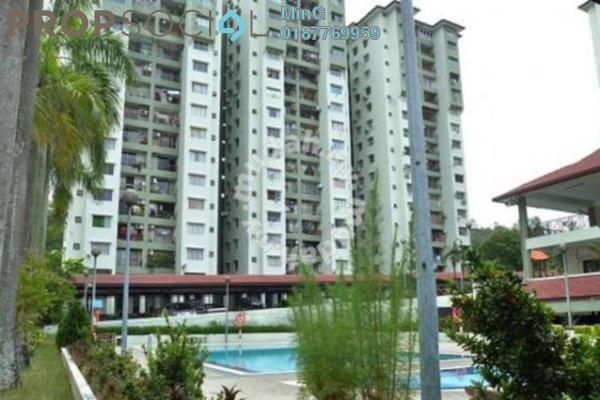 For Rent Apartment at Winner Court B, Desa Petaling Leasehold Semi Furnished 3R/2B 1.2k