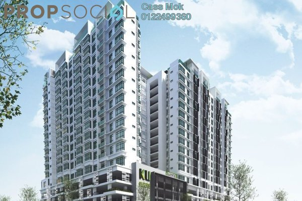 For Sale Condominium at Kemuning Utama Permai, Kemuning Utama Freehold Semi Furnished 3R/2B 659k
