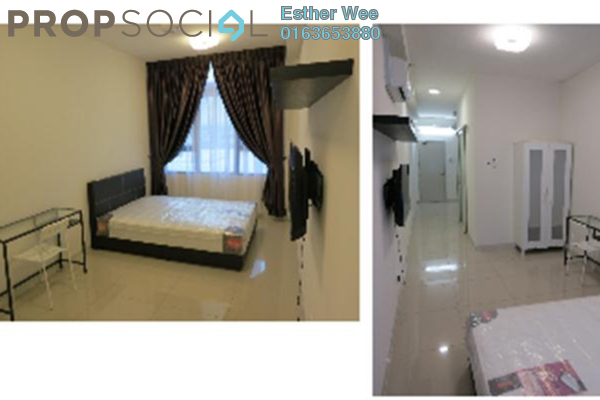 For Rent Serviced Residence at Centrestage, Petaling Jaya Leasehold Semi Furnished 0R/1B 1.7k