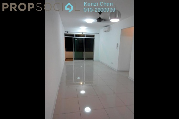 For Rent Condominium at Kiara Residence, Bukit Jalil Leasehold Semi Furnished 3R/2B 1.7k