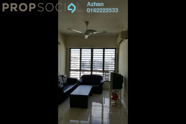 For Sale Apartment at e-Tiara, Subang Jaya Freehold Semi Furnished 2R/2B 530k
