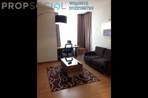 For Rent Serviced Residence at Dua Sentral, Brickfields Freehold Fully Furnished 2R/1B 3.2k
