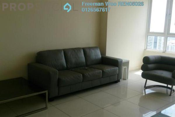 For Rent Condominium at Tiffani Kiara, Mont Kiara Freehold Fully Furnished 1R/2B 4.5k