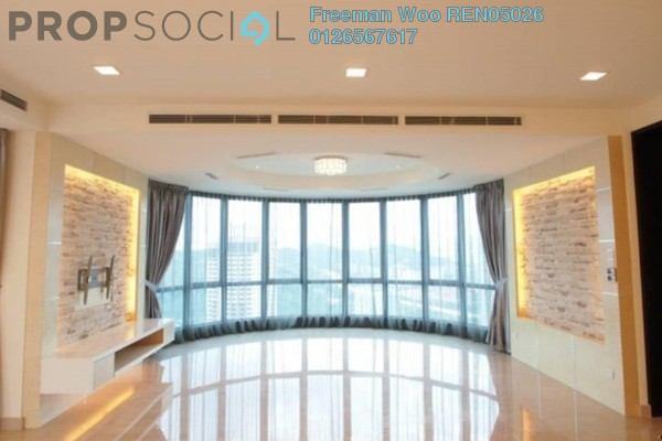 For Rent Condominium at 11 Mont Kiara, Mont Kiara Freehold Semi Furnished 4R/5B 12k