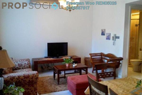 For Rent Condominium at Tiffani Kiara, Mont Kiara Freehold Fully Furnished 1R/2B 3.4k