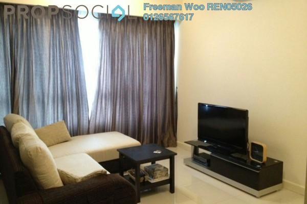 For Rent Condominium at Tiffani Kiara, Mont Kiara Freehold Fully Furnished 1R/2B 4k