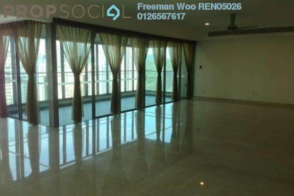 For Rent Condominium at 10 Mont Kiara, Mont Kiara Freehold Semi Furnished 4R/5B 13k