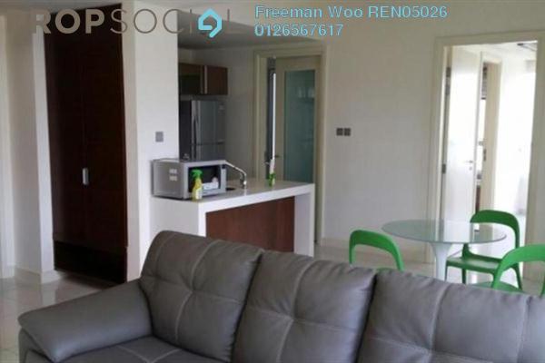 For Rent Condominium at Tiffani Kiara, Mont Kiara Freehold Fully Furnished 1R/1B 3.5k