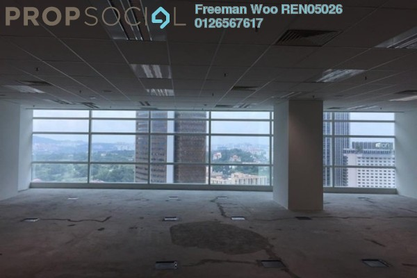 For Rent Office at Q Sentral, KL Sentral Freehold Semi Furnished 0R/2B 10.8k