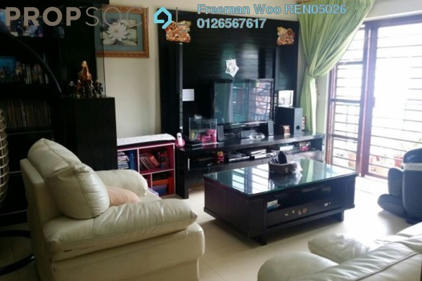 For Sale Condominium at Hartamas Regency 1, Dutamas Freehold Semi Furnished 3R/2B 720k