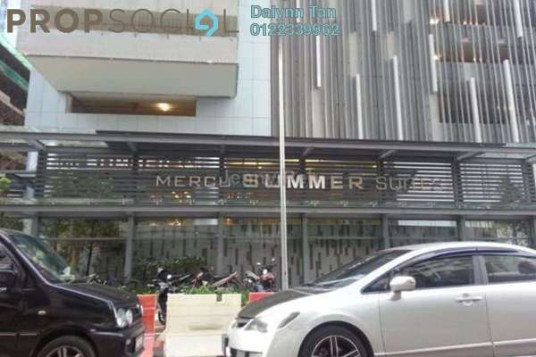 For Sale SoHo/Studio at Summer Suites, KLCC Leasehold Semi Furnished 1R/1B 780k