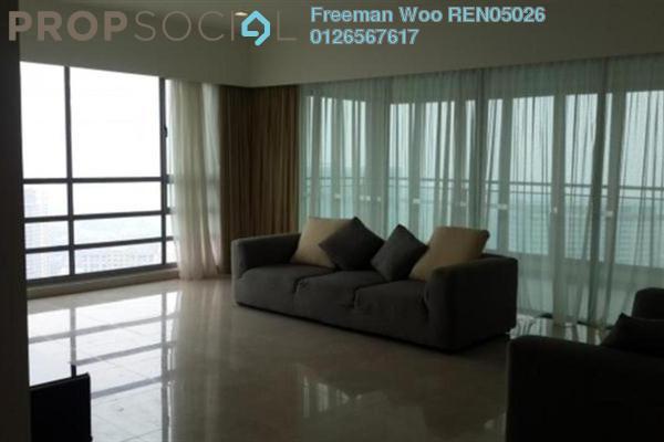 For Rent Condominium at 10 Mont Kiara, Mont Kiara Freehold Semi Furnished 4R/5B 12k