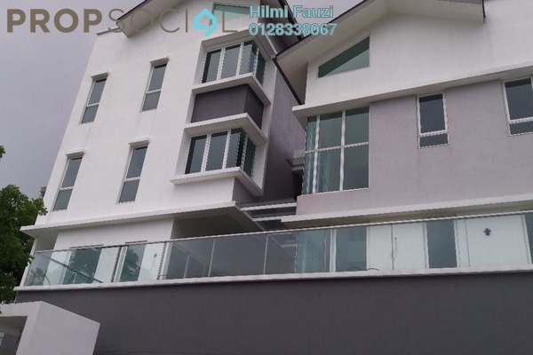 For Sale Villa at Contours, Melawati Freehold Semi Furnished 5R/7B 4.2m