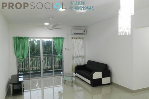 For Rent Apartment at Idaman Residence, KLCC Freehold Semi Furnished 3R/2B 1.65k