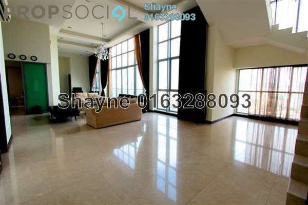 For Rent Condominium at Hampshire Residences, KLCC Freehold Fully Furnished 4R/6B 18k