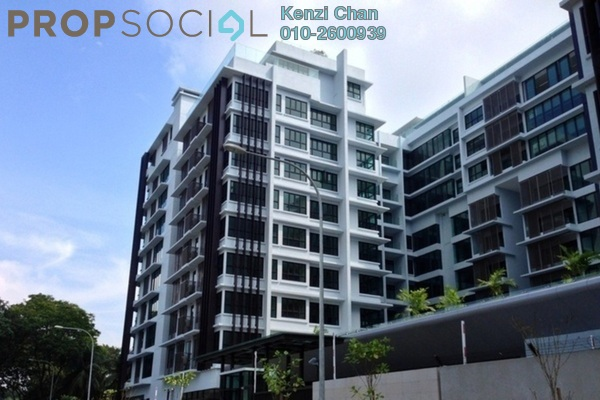 For Rent Condominium at Sastra U-Thant, Ampang Hilir Freehold Semi Furnished 2R/2B 8k