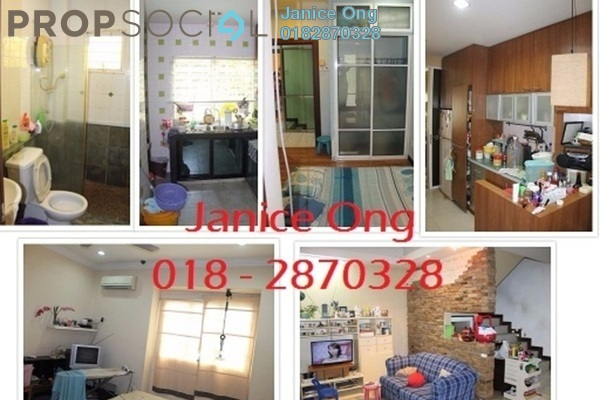 For Sale Terrace at Taman Minang Ria, Cheras South Freehold Fully Furnished 3R/3B 598k