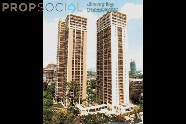 For Sale Condominium at Hampshire Park, KLCC Freehold Semi Furnished 2R/2B 2.44m