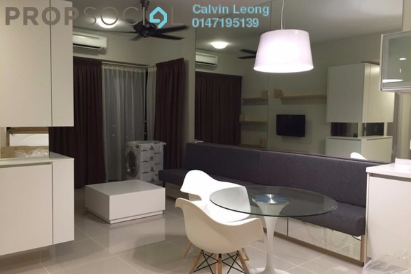 For Rent Condominium at Dex @ Kiara East, Jalan Ipoh Leasehold Fully Furnished 1R/1B 1.8k