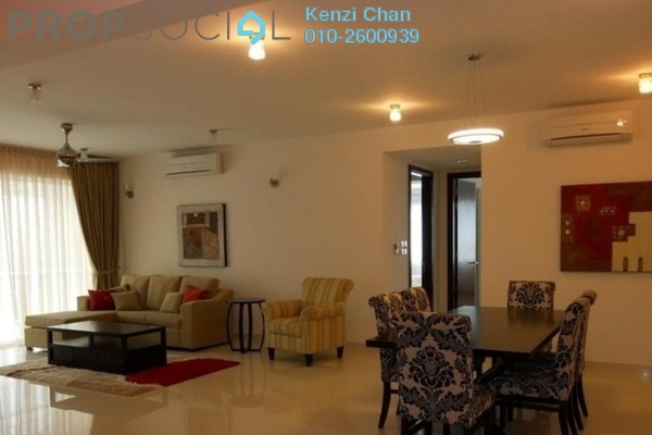 For Sale Condominium at Mont Kiara Meridin, Mont Kiara Freehold Fully Furnished 4R/3B 1.15m