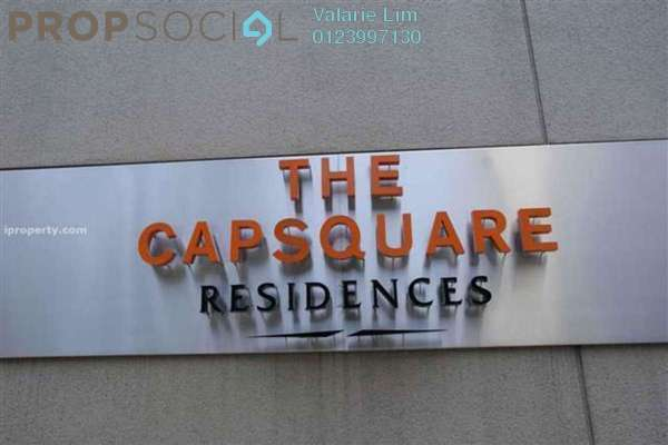 For Sale Serviced Residence at The CapSquare Residences, Dang Wangi Freehold Fully Furnished 2R/2B 985k