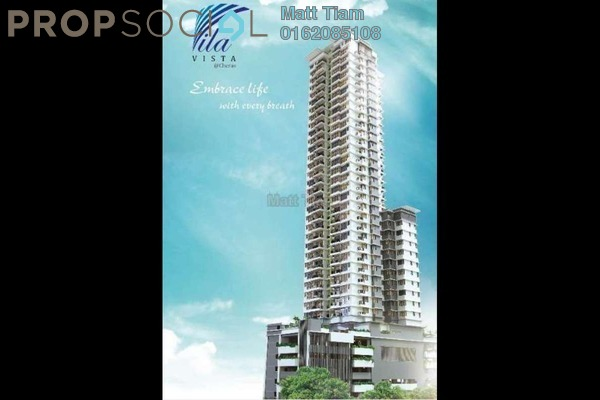 For Sale Condominium at Vila Vista, Cheras Leasehold Semi Furnished 4R/4B 1.02m