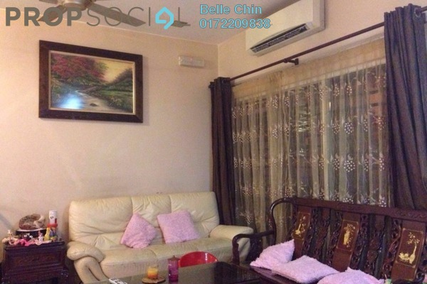 For Sale Terrace at Seri Sungai Long, Bandar Sungai Long Freehold Fully Furnished 4R/3B 830k