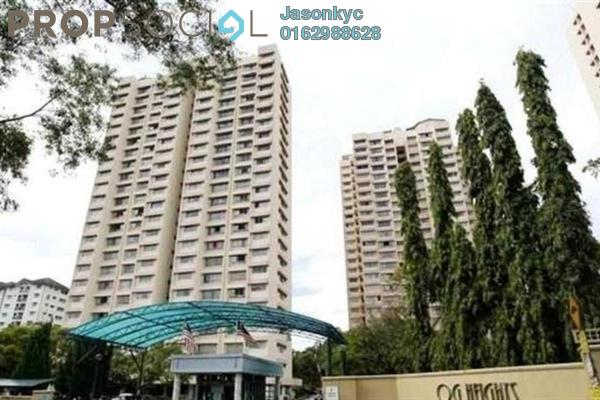For Rent Condominium at OG Heights, Old Klang Road Freehold Semi Furnished 0R/0B 1.4k