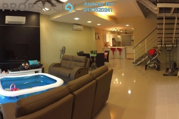 For Sale Terrace at Ken Rimba, Shah Alam Freehold Fully Furnished 4R/3B 750k