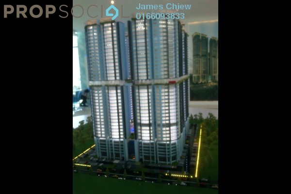 For Sale Condominium at Taman Mas Sepang, Puchong Leasehold Semi Furnished 2R/2B 348k