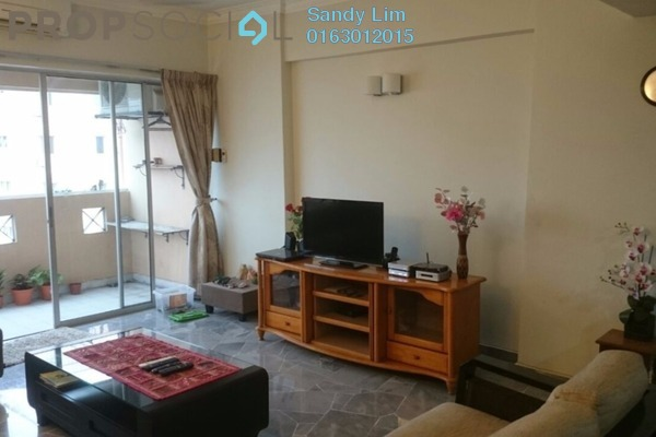 For Rent Condominium at Villa Flora, TTDI Freehold Fully Furnished 3R/2B 2.7k