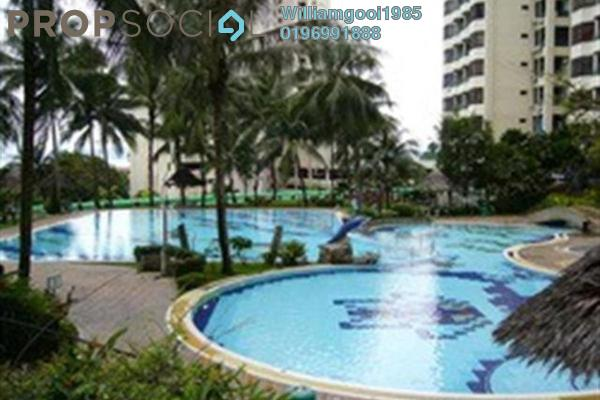 For Sale Condominium at Sunny Ville, Batu Uban Freehold Semi Furnished 3R/2B 450k